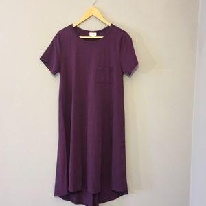 EUC 💜 LuLaRoe Carly Dress small